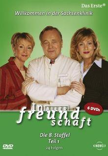 In aller Freundschaft - Die 08. Staffel, Teil 1, 24 Folgen [6 DVDs]