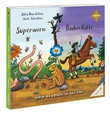 Superwurm / Räuber Ratte: Sprecher: Ilona Schulz, 1 CD, Digipack, Laufzeit 45 Min.