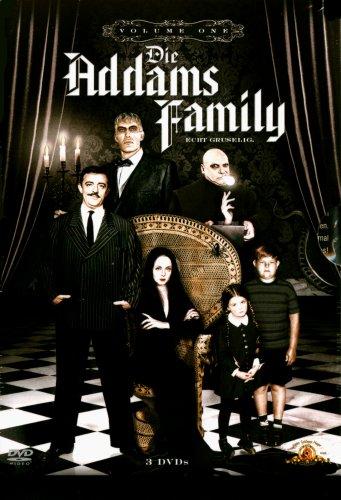 die addams family volume 1 3 dvds von sidney lanfield. Black Bedroom Furniture Sets. Home Design Ideas
