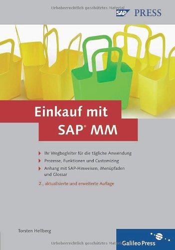 Einkauf Aktuell Reisen : einkauf mit sap mm prozesse funktionen customizing sap ~ Watch28wear.com Haus und Dekorationen