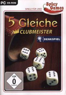 5 gleiche - Clubmeister - Würfeln ohne Grenzen!