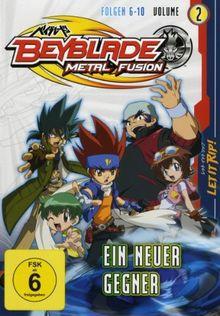 Beyblade Metal Fusion - Volume 2 (Folgen 6-10)