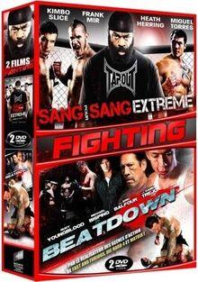 Coffret fighting 2 films : sang pour sang extrême ; beatdown [FR Import]