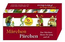 Märchen-Pärchen: Das Märchen-Memo für Jung und Alt. 64 Memo-Karten.
