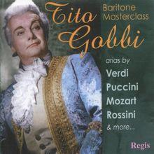 Tito Gobbi/Baritone Masterclass