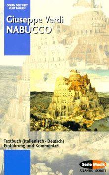 Nabucco Textbuch Italienisch Deutsch Einfuhrung Und Kommentar Von Giuseppe Verdi