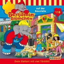 Benjamin Blümchen 118 … auf der Baustelle