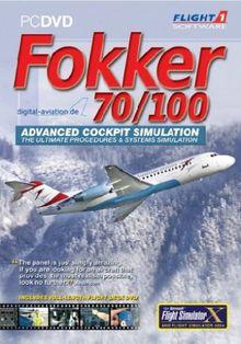 Flight Simulator X - FOKKER 70/100 (Add-On)