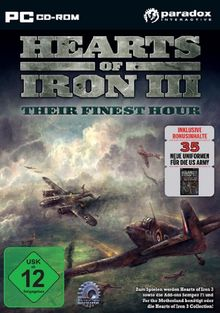 Hearts of Iron 3: Their Finest Hour (PC)