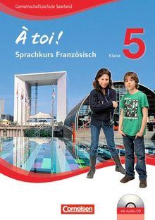 À toi! - Sprachkurs Französisch: Teil 1 - Arbeitsheft mit MP3-CD