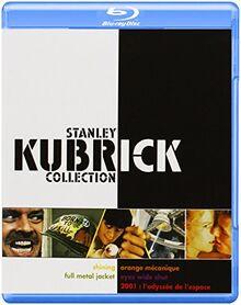 2001 : l'odyssée de l'espace + Orange mécanique + Shining + Full Metal Jacket + Eyes Wide Shut - Coffret Stanley Kubrick [Blu-ray] [FR Import]