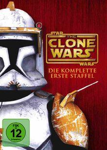 Star Wars: The Clone Wars - Die komplette erste Staffel [4 DVDs]
