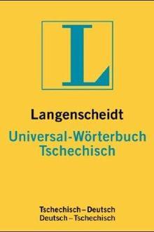 Langenscheidts Universal-Wörterbuch Tschechisch: Tschechisch-Deutsch / Deutsch-Tschechisch