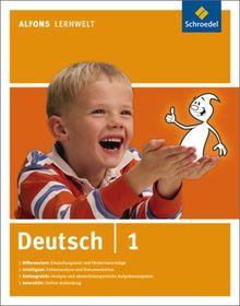 Alfons Lernwelt - Deutsch 1: Ausgabe 2009