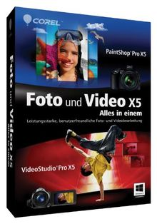 Corel Foto und Video X5