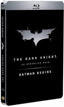 Coffret nolan : batman begins; the dark knight [Blu-ray] [FR Import]