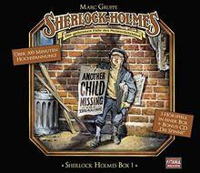 Sherlock Holmes - Box 1 (3 Folgen + Bonus CD / exklusiv bei Amazon.de)