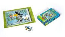 Pippi Puzzle 24 Teile: ab 3 Jahren, 24 Teile, Pippi sitzt auf Baum vor Fenster