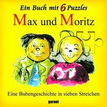 Max & Moritz, Puzzlebuch