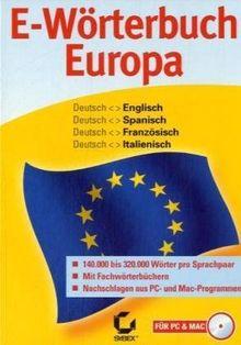 E-Wörterbuch Europa (PC+MAC)