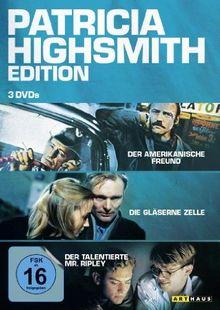 Patricia Highsmith Edition: Der amerikanische Freund / Die gläserne Zelle / Der talentierte Mr. Ripley [3 DVDs]