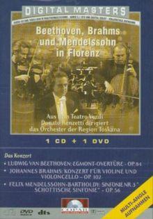 Beethoven, Brahms und Mendelssohn in Florenz [2 DVDs]