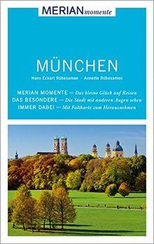 MERIAN momente Reiseführer München: Mit Extra-Karte zum Herausnehmen