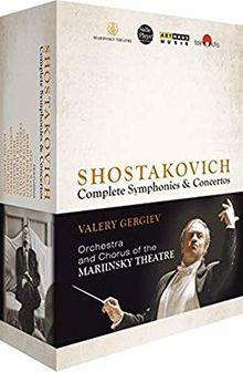Schostakowitsch: Sämtliche Sinfonien & Konzerte [4 Blu-Rays]