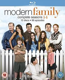 Modern Family: The Complete Seasons 1-4 [12 Blu-rays] [UK Import]