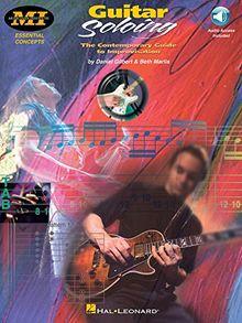 M. I. Guitar Soloing Gilbert/Marlis Miec Bk/Cd -Album-: Noten, CD für Gitarre