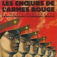 Les Choeurs de l'Armee Rouge 1