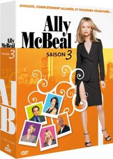 Ally McBeal : intégrale saison 3 - coffret 6 DVD [FR Import]