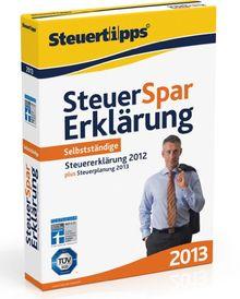 Steuer-Spar-Erklärung für Selbstständige 2013 (für Steuerjahr 2012)