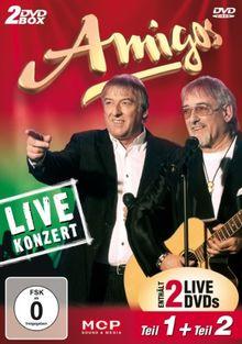 Amigos - Live Konzert Teil1 + Teil2 [2 DVDs]