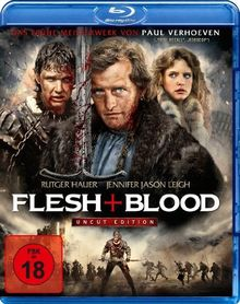 Flesh + Blood - Uncut Edition [Blu-ray]