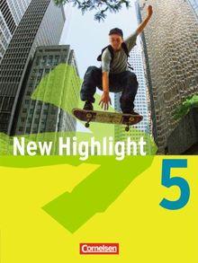 New Highlight - Allgemeine Ausgabe: Band 5: 9. Schuljahr - Schülerbuch: Kartoniert