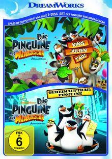 Die Pinguine aus Madagascar - King Julien Tag & Geheimauftrag: Pinguine [2 DVDs]