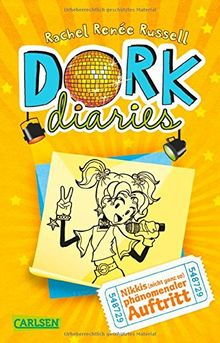 DORK Diaries, Band 3: DORK Diaries - Nikkis (nicht ganz so) phänomenaler Auftritt