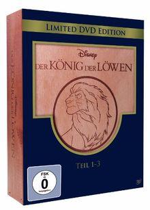 Der König der Löwen - Teil 1-3 (Holzbox) [Limited Edition] [3 DVDs]