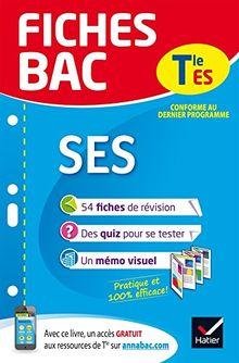 Fiches Bac Terminale: SES Terminale ES
