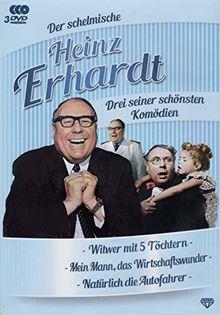 Der schelmische Heinz Erhardt - 3 seiner schönsten Komödien - Box [DVD]