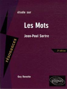 Les Mots : Etude sur Jean-Paul Sartre