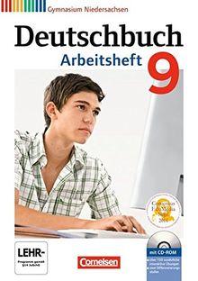 Deutschbuch Gymnasium - Niedersachsen: 9. Schuljahr - Arbeitsheft mit Lösungen und Übungs-CD-ROM