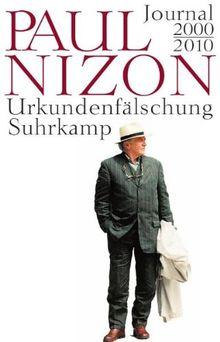 Urkundenfälschung: Journal 2000-2010