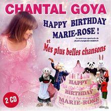 Happy Birthday Marie Rose