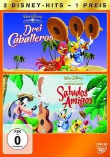 Drei Caballeros / Saludos Amigos [2 DVDs]