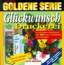Goldene Serie. Glückwunsch- Druckerei. CD- ROM für Windows 3.1x/95