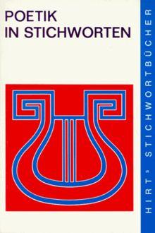 Hirts Stichwortbücher, Poetik