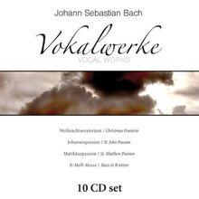 Johann Sebastian Bach's Vokalwerke: Weihnachtsoratorium / Johannespassion / Matthäuspassion / H-Moll-Messe