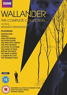 Wallander - The Complete Collection [8 DVDs] [UK Import]